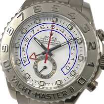 Rolex Yacht-Master II 116689 Good White gold 44mm Automatic