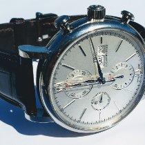 IWC Portofino Chronograph Steel Silver No numerals United States of America, Michigan, Clinton Township