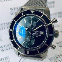 Breitling Superocean Héritage Chronograph Stahl 46mm Schwarz Keine Ziffern Deutschland, Karlsruhe