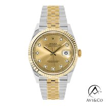 Rolex Datejust Steel 36mm Champagne No numerals United States of America, New York, New York