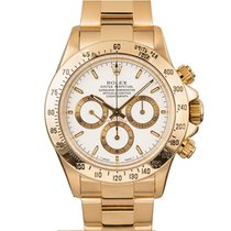 Rolex Daytona Yellow gold 40mm White No numerals United States of America, New York, New York