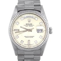 Rolex Day-Date 36 White gold 36mm Silver United States of America, Florida, Boca Raton