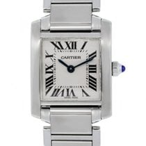 Cartier Tank Française Steel 20mm White Roman numerals United States of America, Florida, Boca Raton