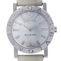 Bulgari Bulgari pre-owned 33mm Mother of pearl Leather