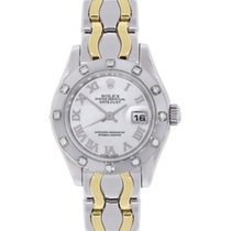 Rolex Lady-Datejust Pearlmaster White gold 29mm Mother of pearl Roman numerals United States of America, Florida, Boca Raton