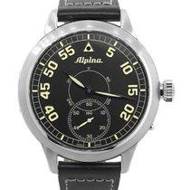 Alpina Startimer Pilot Heritage Steel 50mm Black