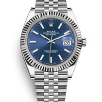 Rolex Datejust Steel 41mm Blue No numerals United States of America, New Jersey, Totowa