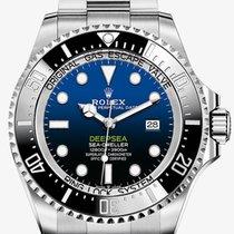 Rolex Sea-Dweller Deepsea Zeljezo 44mm Plav-modar Bez brojeva