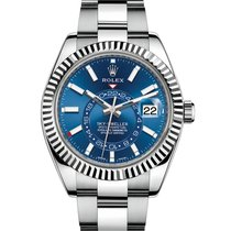 Rolex Sky-Dweller Steel 42mm Blue No numerals United States of America, New Jersey, Totowa