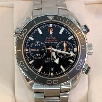 Omega Seamaster Planet Ocean Chronograph Staal Zwart