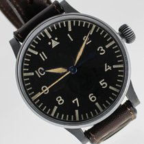 Stowa pre-owned Manual winding 55mm Black Plastic