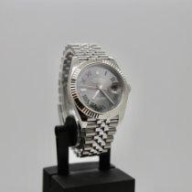 Rolex Datejust II Staal 41mm Grijs Geen cijfers Nederland, Velp