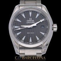 Omega Seamaster Aqua Terra Stahl 39mm Grau Keine Ziffern