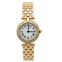 Cartier Panthère Yellow gold 24mm White Roman numerals United States of America, California, Los Angeles