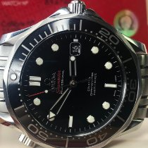 Omega Seamaster Diver 300 M pre-owned 41mm Black Date Steel