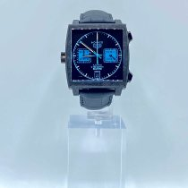 TAG Heuer Monaco Calibre 11 Carbon 39mm Black No numerals