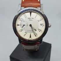 Zenith Steel 37mm Automatic 01/02.0450.680 pre-owned