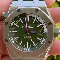 Audemars Piguet Royal Oak Offshore Diver Acero 42mm Verde
