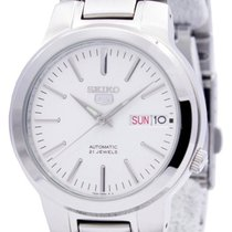 Seiko 5 Steel 38mm White