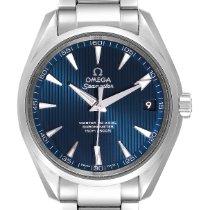 Omega Seamaster Aqua Terra Acero 38.5mm Azul