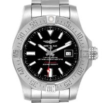 Breitling Avenger II Seawolf Steel 45mm Black United States of America, Georgia, Atlanta