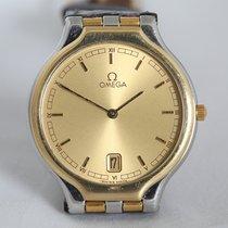 Omega tweedehands Quartz 37mm Goud Saffierglas