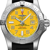 Breitling Avenger II Seawolf Steel 45mm Yellow United States of America, New York, Airmont