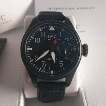 IWC Big Pilot Top Gun Titanium 48,6mm Black Arabic numerals