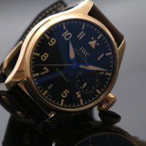 IWC Big Pilot Bronse 46.2mm Svart Arabisk