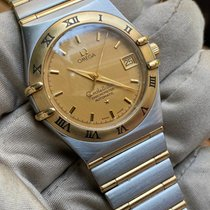 Omega Constellation Acero y oro 35mm Blanco