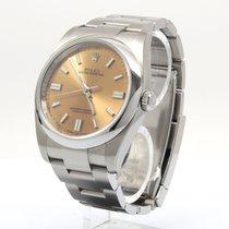 Rolex Oyster Perpetual 36 neu 2020 Automatik Uhr mit Original-Papieren 116000