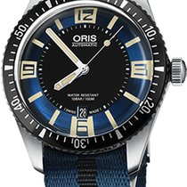Oris Divers Sixty Five Steel 40mm Blue Arabic numerals United States of America, California, Moorpark