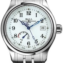 Ball Trainmaster new Automatic Watch with original box NM1056D-S1J-WH