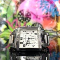 Jaeger-LeCoultre Reverso Squadra Chronograph GMT Acier 35mm Blanc Arabes France, Paris