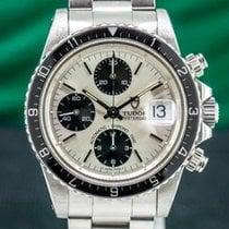 Tudor Oysterdate Big Block Steel 40mm Silver Arabic numerals United States of America, Massachusetts, Boston