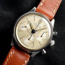 Rolex Chronograph Acél 34mm Pezsgőszínű Számjegyek nélkül