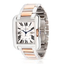 Cartier Tank Anglaise Steel 30mm Silver Roman numerals United States of America, New York, New York
