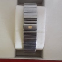Omega Constellation Double Eagle Steel 44mm Black No numerals