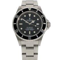 Rolex Sea-Dweller 4000 tweedehands 40mm Zwart Datum Staal
