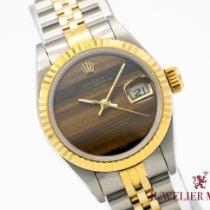 Rolex Lady-Datejust neu 1992 Automatik Uhr mit Original-Papieren 69173