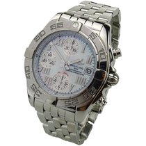 Breitling Chrono Galactic Steel 39mm Mother of pearl Roman numerals