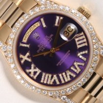 Rolex Day-Date 36 Yellow gold 36mm Purple United States of America, California, Los Angeles