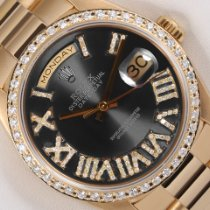 Rolex Day-Date 36 Yellow gold 36mm Grey United States of America, California, Los Angeles