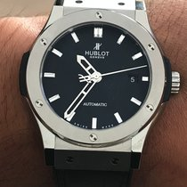Hublot Classic Fusion 45, 42, 38, 33 mm 542.NX.1170.RX État neuf Titane 42mm Remontage automatique France, Paris