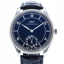 IWC Portuguese Hand-Wound IW5445-01 2010 pre-owned