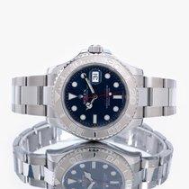 Rolex Yacht-Master 40 Stahl 40mm Blau