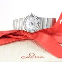 Omega Constellation Quartz Çelik 24mm Sedef
