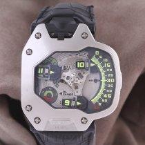 우르베르크 플라티늄 47mm 자동 UR-110 PT 중고시계