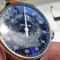 Meistersinger Pangaea Day Date PDD908 Very good Steel 40mm Automatic