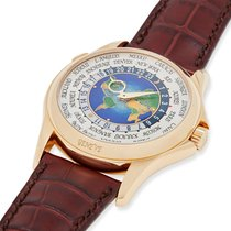 Patek Philippe World Time Yellow gold 39.5mm